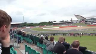 Ferrari's felipe massa spin crash at Stowe,Silverstone 2013
