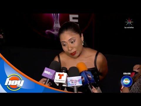 Yalitza Aparicio fue presentadora de los Premios Ariel | Hoy