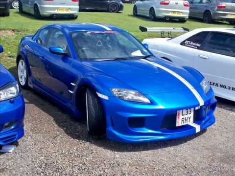winning blue mazda rx8 ings body kit youtube. Black Bedroom Furniture Sets. Home Design Ideas