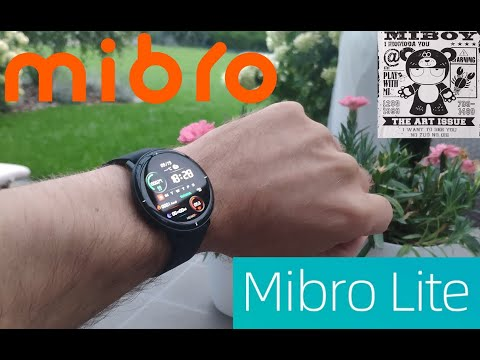 Mibro Color Lite Smart Watch z ekranem Amoled