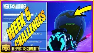 Fortnite Season 6: NEW LEAK & GLITCH! How to GLITCH Into ANY Object EASY & LEAKED Week 5 Challenges