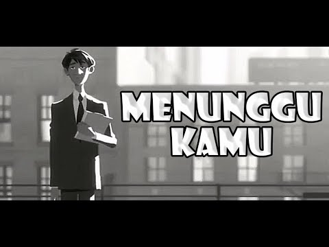 Anji - Menunggu Kamu ( Official Animated Cover )