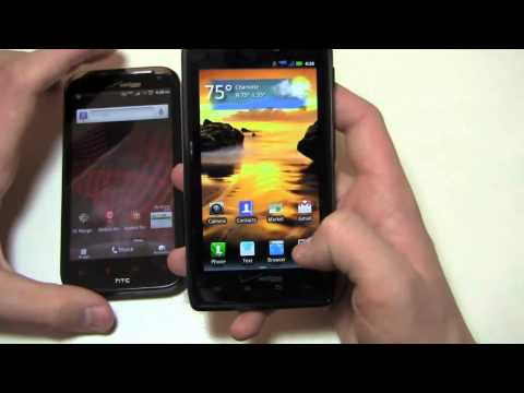 HTC Rezound vs. Motorola DROID RAZR Dogfight Part 1