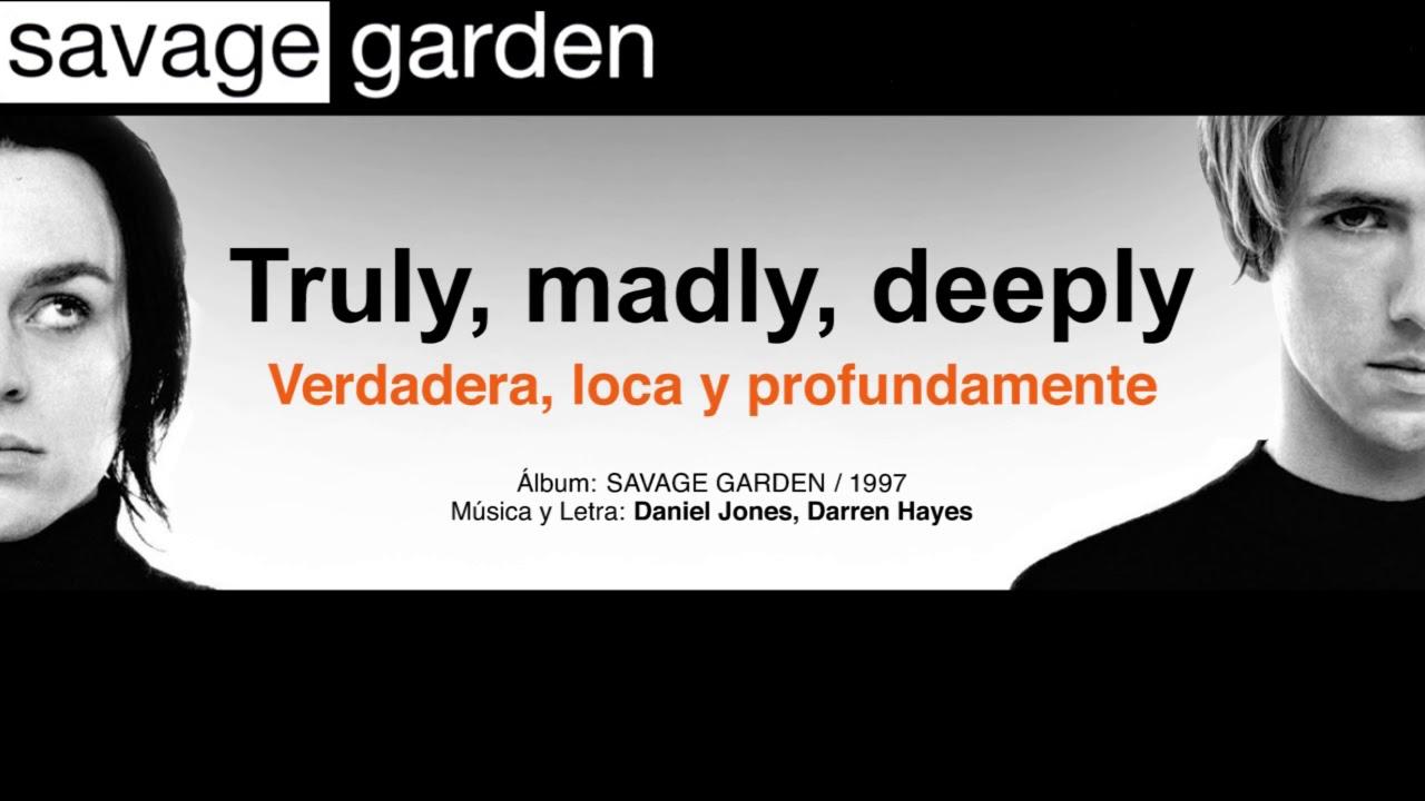 Savage Garden Truly Madly Deeply Subtitulos Espanol