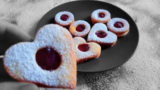 |CookingPlanet| Czech Christmas sweet: Linzer cookies (Linecké cukroví) [Czech Cuisine S01E03]