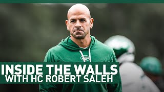 Inside The Walls With Robert Saleh | The New York Jets | NFL