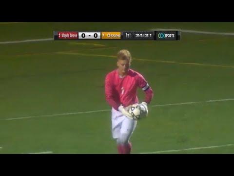Osseo Vs. Maple Grove Section 8AA Boys High School Soccer