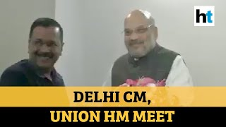 Watch what Arvind Kejriwal said after 1st meet with Amit Shah post Delhi polls
