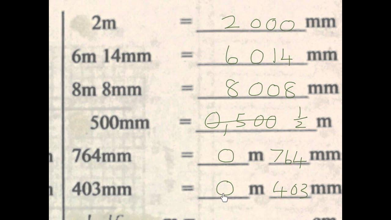 Conversions 3 grade 4 length mm cm m km mathdou youtube conversions 3 grade 4 length mm cm m km mathdou nvjuhfo Images
