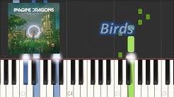 Imagine Dragons - Birds (Piano Tutorial)|Magic Hands