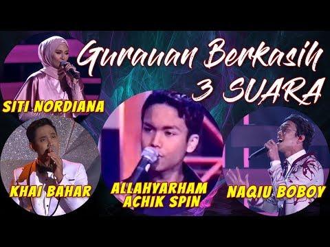 Gurauan Berkasih - Naqiu Boboy, Khai Bahar & Allahyarham Achik Spin Ft Siti Nordiana