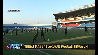 Persiapan Garuda Muda Jelang Laga Kedua VS Iran U-19