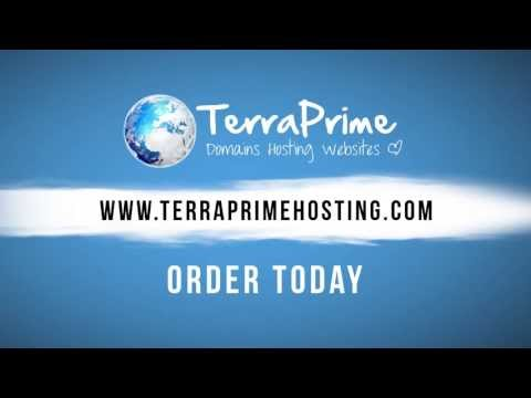 Terra Prime Web Hosting, Domain Names, Cloud Backup Promotional Video