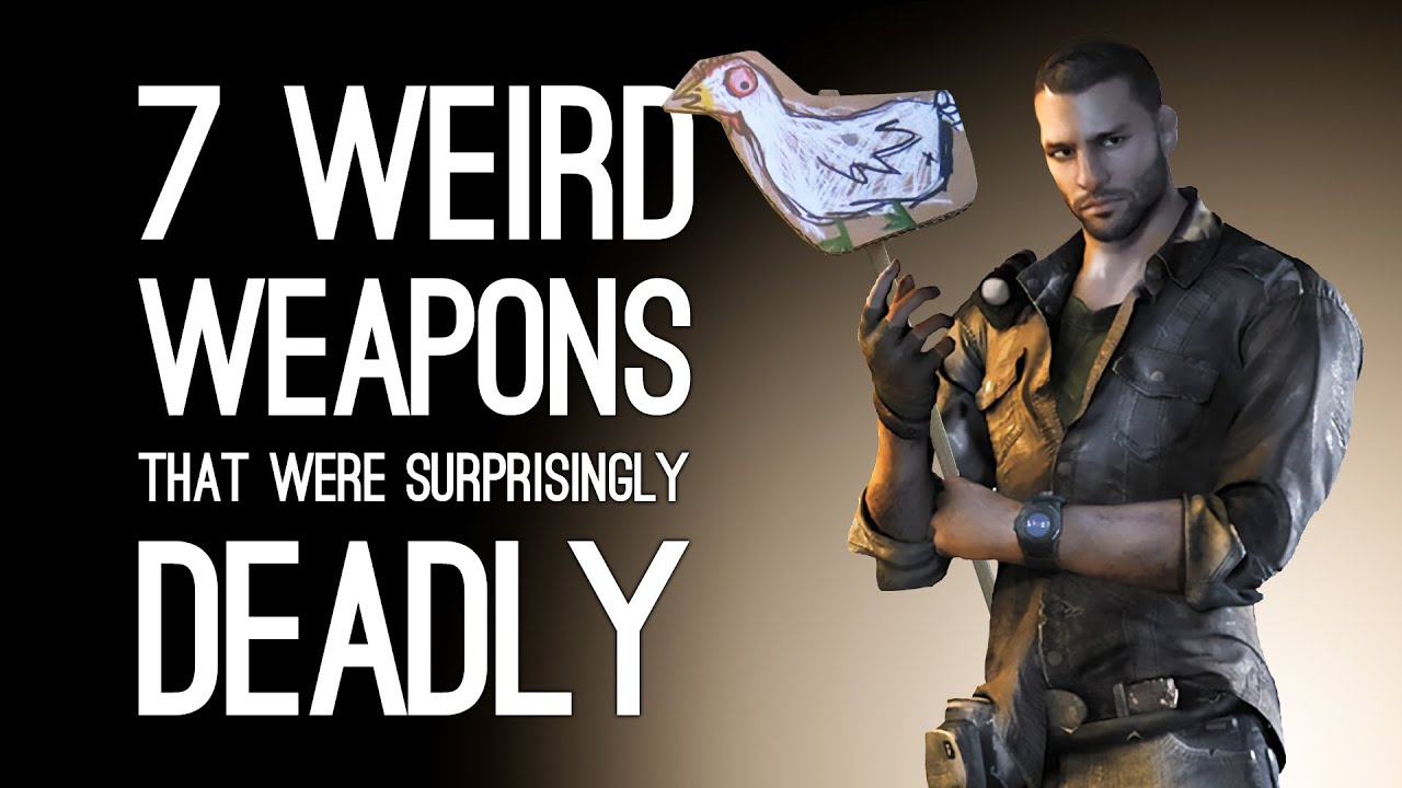 7 Weird Weapons That Proved Surprisingly Deadly
