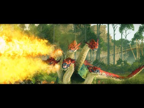 Fury of the Old Ones | Lizardmen vs Dark Elves | Total War: Warhammer 2 cinematic battle