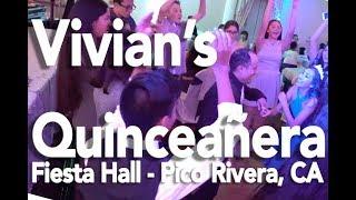 MIJO Entertainment | Vivian's Quinceañera | Fiesta Hall | Pico Rivera, CA