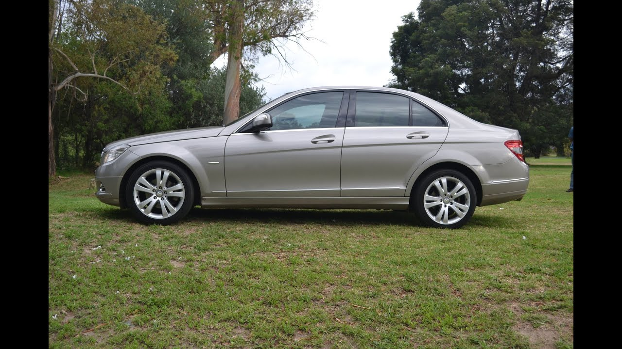 2008 mercedes benz c180 avantgarde 2778 youtube for C180 mercedes benz