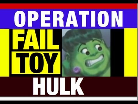 Funny Videos: Hulk OPERATION GAME Funny Video Review Mike Mozart Jeepers Media Epic Fail