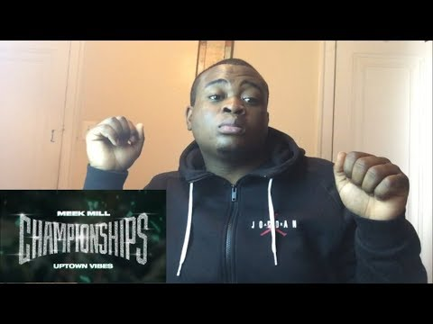 Reacting To Meek Mill - Uptown Vibes Ft. Fabolous & Anuel AA (Official Audio)