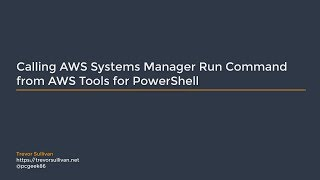 Video Calling AWS Systems Manager Run Command from AWS Tools for PowerShell download MP3, 3GP, MP4, WEBM, AVI, FLV Agustus 2018