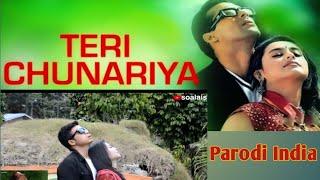 [Parodi India] Teri Chunnariya Ost. Hello Brother (Salman Khan & Rani Mukherji) KW 5. MIRIP Sih?
