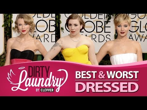 Best & Worst Dressed at the Golden Globes 2014 - Dirty Laundry