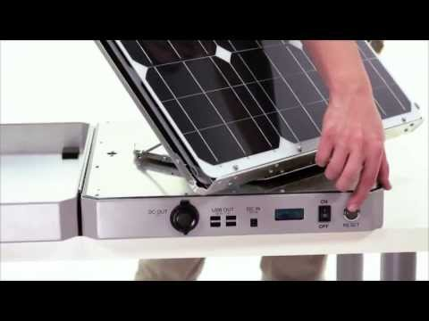 AspectSolar – About the SunSocket Solar Generator