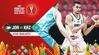 Jordan - Kazakhstan | Highlights - FIBA Asia Cup 2021 Qualifiers