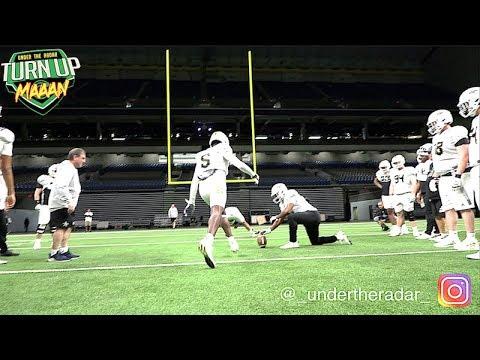 WEST Team Offense V Defense Hilarious Field Goal Contest | All American Bowl 2020 |#UTR Highlights