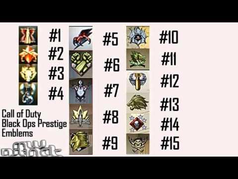 Prestige Emblems Black Ops 1 Black Ops 1-15th Prestige