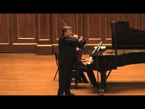 Ysaye Poème élégiaque, Op.12. James Buswell (Live performance)