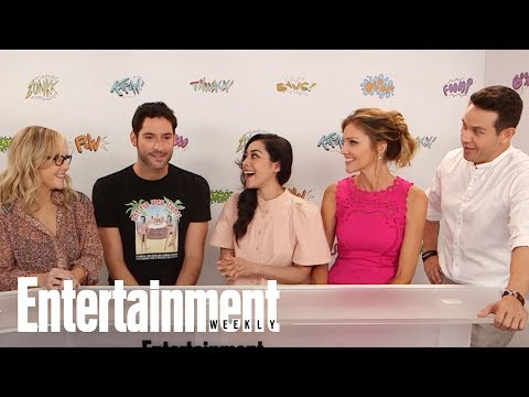 Lucifer's Tom Ellis Spills On Four Special Standalone Episodes | SDCC 2017 | Entertainment Weekly