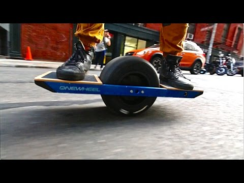 Super Powered Hoverboard