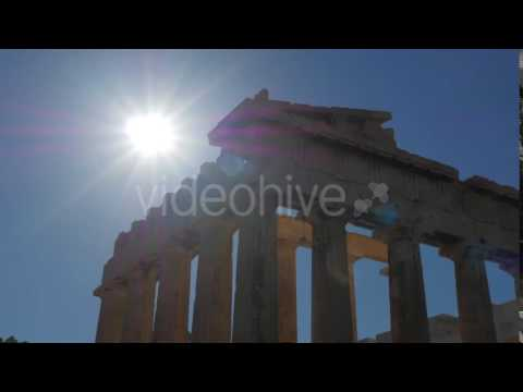 Travel View of Acropolis in Athens, Greece - Stock Footage | VideoHive 14519349