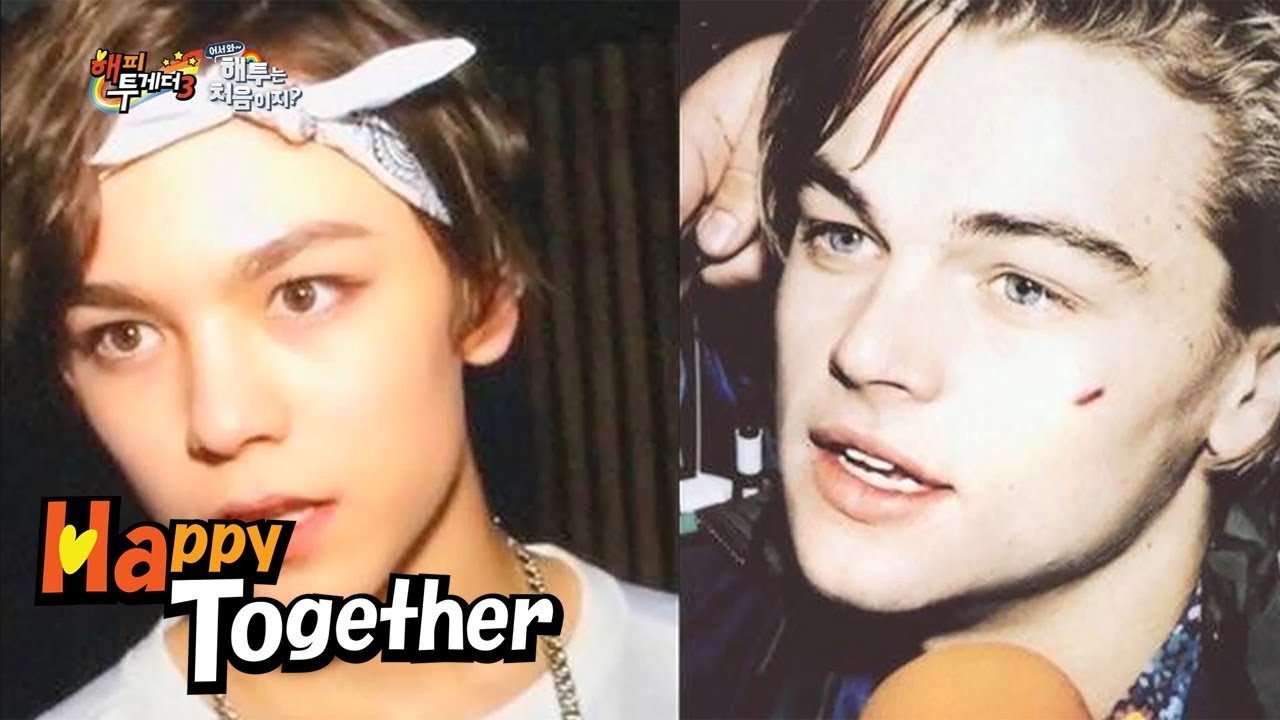 Vernon(SEVENTEEN) Looks Like DiCaprio!!! [Happy Together Ep 533]