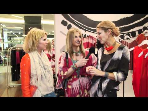 SASS & BIDE PARTY AT MYER MELBOURNE 2011- CHATTING WITH THE DESIGNERS