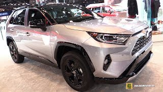 2019 Toyota Rav4 Hybrid - Exterior and Interior Walkaround - 2018 New York Auto Show