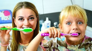 Brush Your Teeth! Kids Song Nursery Rhymes for Kids Merry Margo