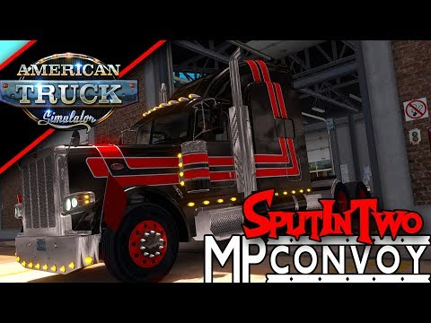 American Truck simulator Window licker Cargo is open Albuque