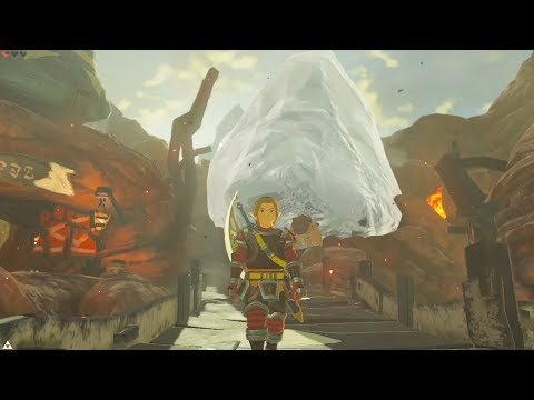 What Happens if a Huge Ice Tower Appears in Goron City - Zelda Breath of the Wild