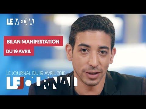 LE JOURNAL DU 19 AVRIL 2018 : MOUVEMENTS SOCIAUX