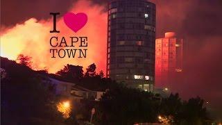 Fire on Table Mountian - Fire on Devils Peak Cape Town 2017