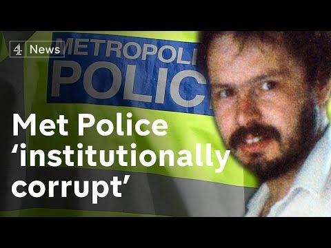 Daniel Morgan murder: Met Police 'institutionally corrupt', says report