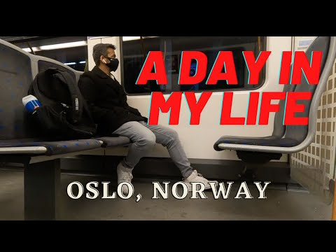 A DAY IN MY LIFE - SPRING SEMESTER | Oslo, Norway