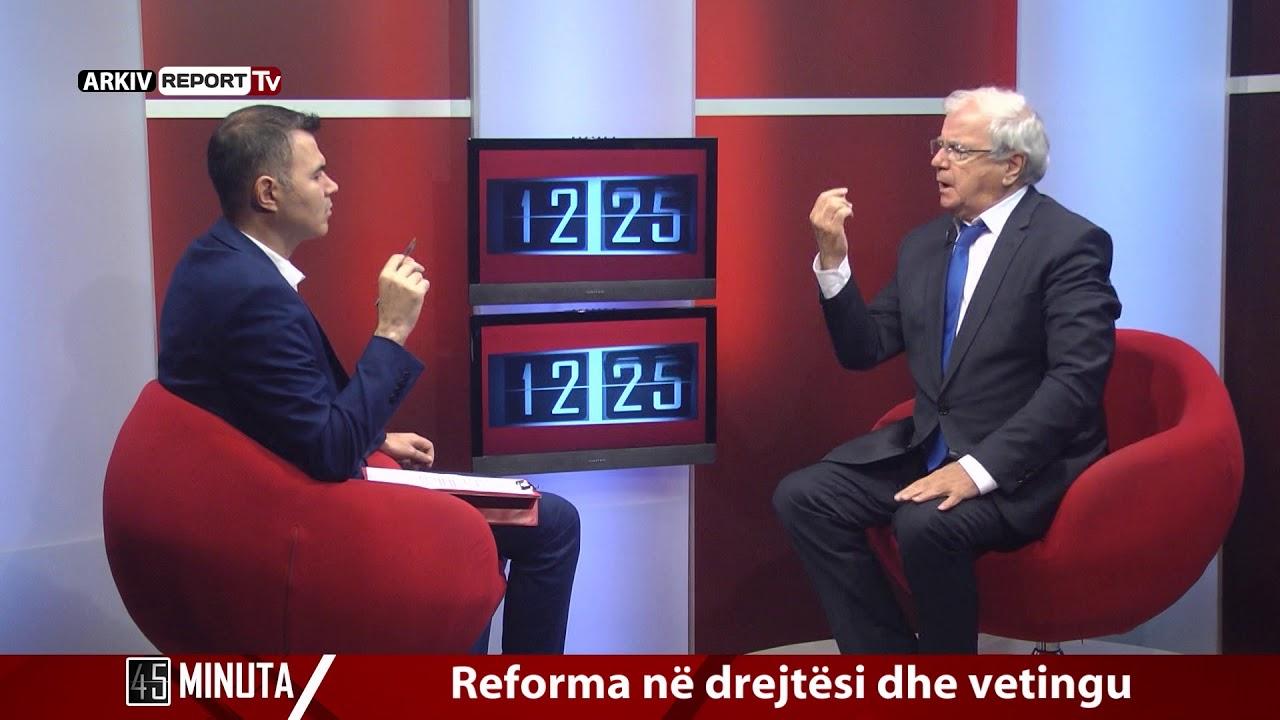 Report Tv - 45 Minuta, i ftuar Spartak Ngjela