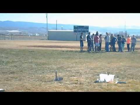 Experiência com foguete- Gunnison Valley High School 2013