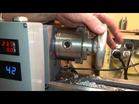 Sieg Mini lathe rebuild #29 Carriage hand wheel machining