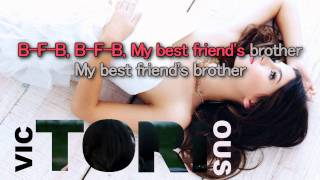 Download Victoria Justice - Best Friend's Brother [Karaoke/ Instrumental] MP3 song and Music Video