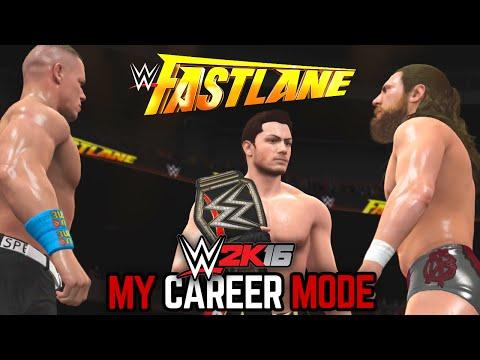 "WWE 2K16 My Career Mode - Ep. 145 - ""FAST LANE CHAOS!!"""