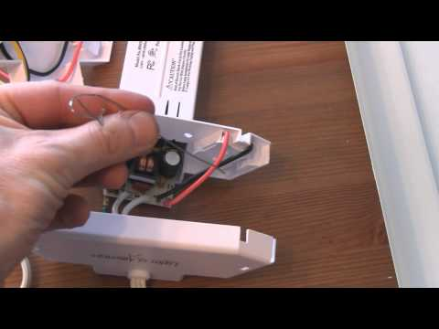 How To Build A Super Charged Fluorescent Grow Light By Overdriving